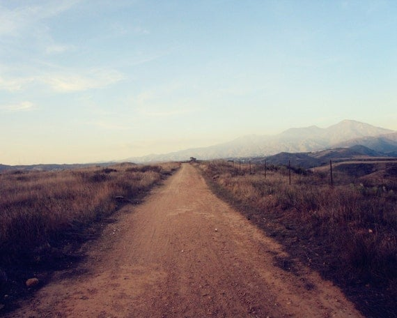 Into the Great Wide Open - 8x10 Fine Art Photograph