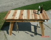 Ultimate Folding  tailgating/camping  table.