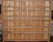 Spice Rack, Kitchen Shelf, Hickory Kitchen Large