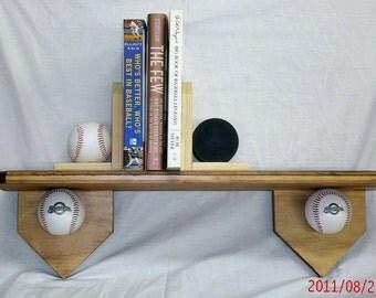 "24""  baseball motif shelf"