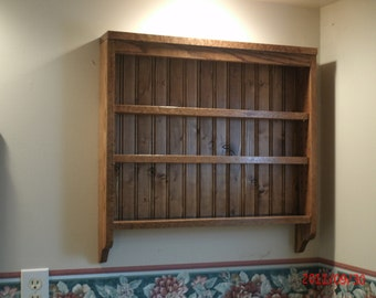 Custom Spice Rack/ Kitchen shelf