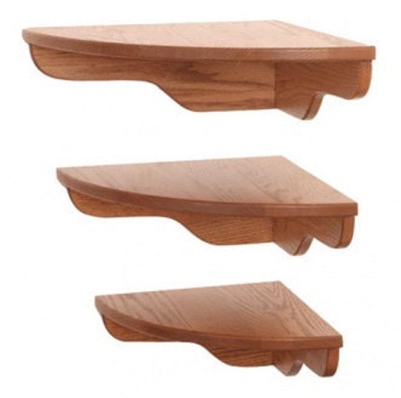 3 rounded front corner shelf group.
