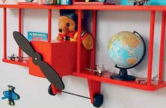 Bi-Plane Wall Shelf