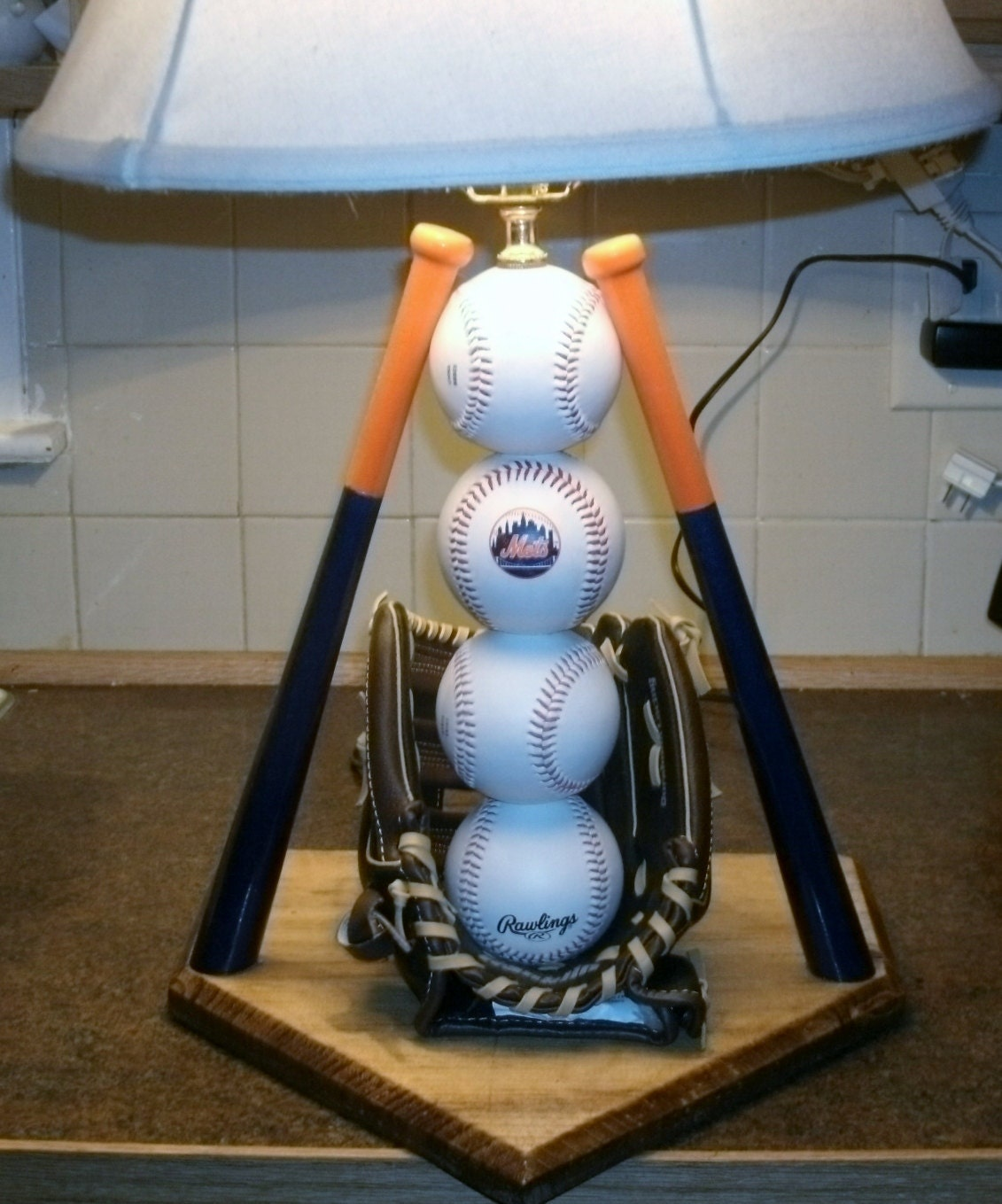 Baseball table lamp zoom geotapseo Image collections
