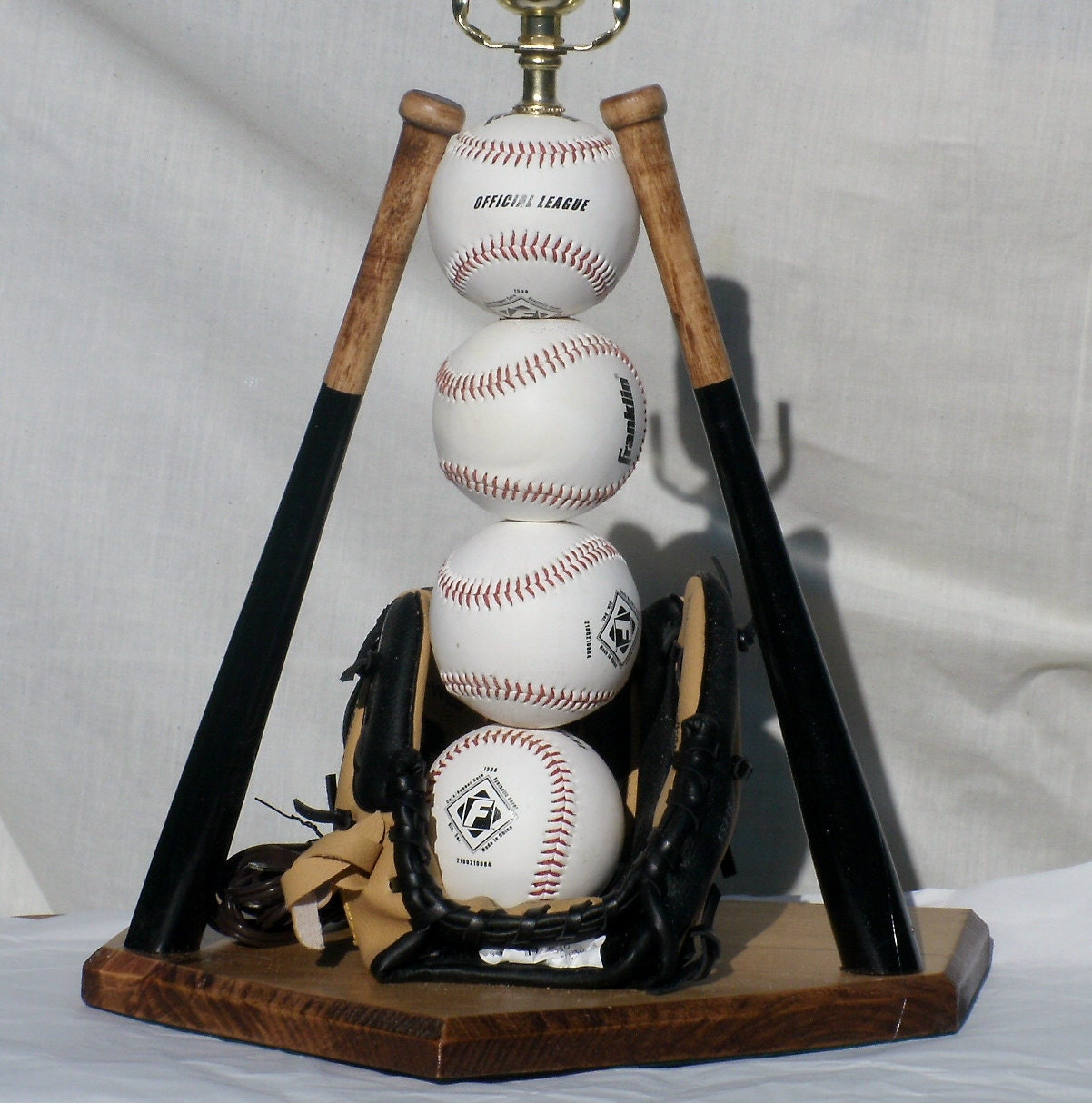 Lamp Baseball Theme for the man cave
