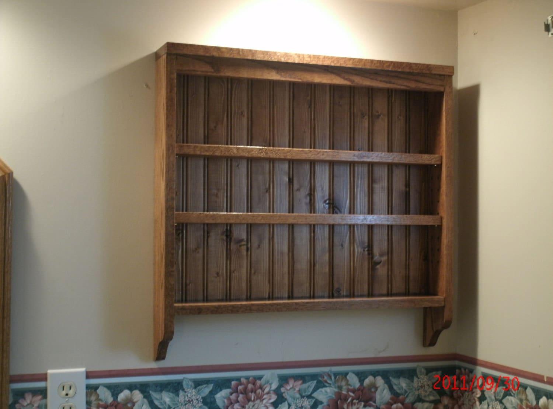 Kitchen Wall Spice Shelf