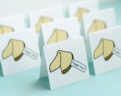 Fortune Cookie Thank You Mini Cards, Set of 8