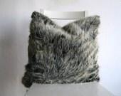 Faux Fur 14 x 14 Cushion Cover
