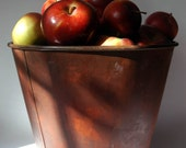 Rustic Painted Maple Sap Bucket