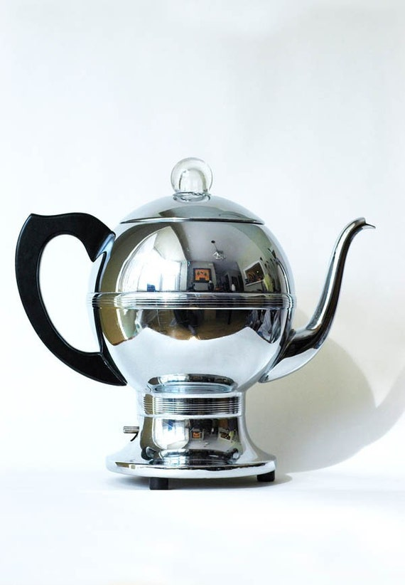 Vintage 1950s Chrome Coffee Percolator by Westinghouse