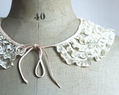 Lily's collar - Vintage french lace collar