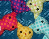 KarmaCat Custom KITTY CAT Rag Dolls -- you choose fabric and features