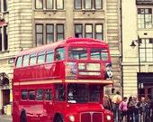 Double-Decker Bus 8x10 Print- Travel Photography