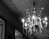 Romantic Photography- Sparkling Chandelier- Home and Office Decor