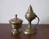 Vintage - 2 Bronze Incense Burners - Sale Sale Sale