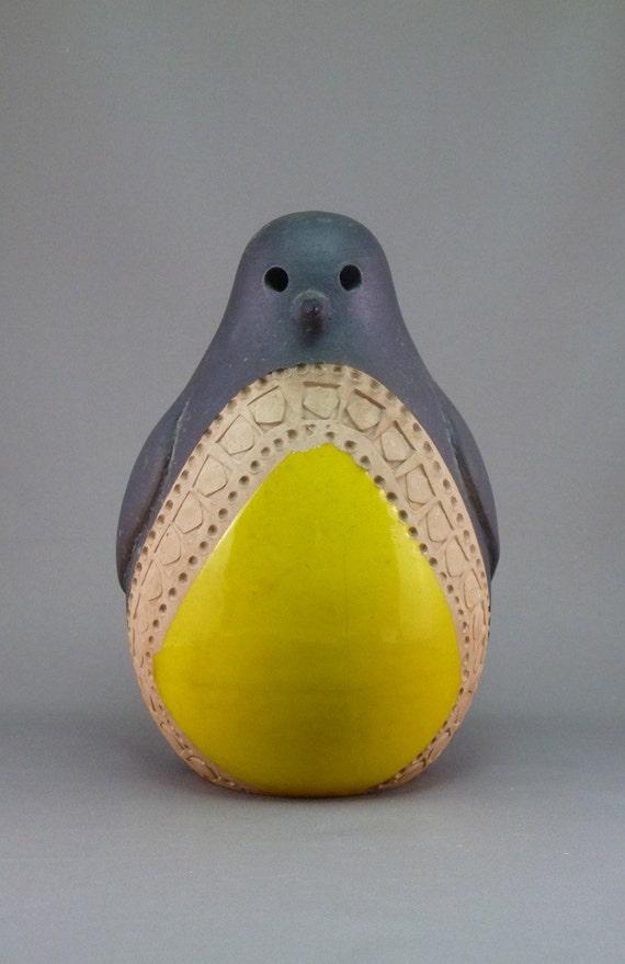 Large Bitossi Italy penguin designed by Aldo Londi