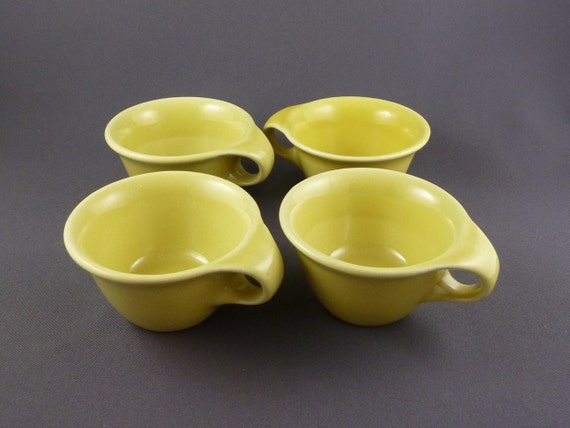 Russel Wright Sterling China coffee cups, Set of 4