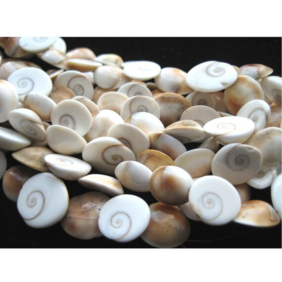 Wholesale Shivs Eye Lot - Shivs Eye Nuggets - Approx 15mm - 2 strands - 20 Inches Each - 75-80 Pieces