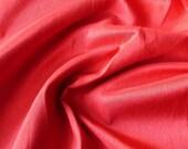 Blood Red Art Silk Fabric By The Yard Silk Curtain Fabric Apparel Fabric Silk Dupioni Fabric Indian Silk Fabric By The Yard