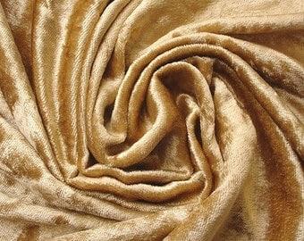 Gold Velvet Fabric Yardage Fabric Curtain Fabric Fashion Velvet Upholstery Fabric Decorative Fabric Window Treatment Fabric By The Yard