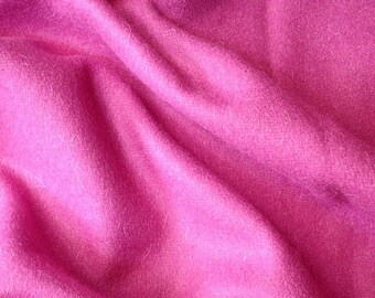 Fuchsia Purple Felt Fabric - 1 Yard