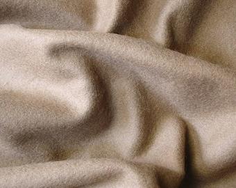 Light Brown Felt Fabric - 1 Yard