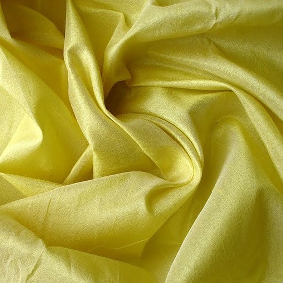 Yellow Green Art Silk Fabric By The Yard Silk Curtain Fabric Apparel Fabric Silk Dupioni Fabric Indian Silk Fabric By The Yard