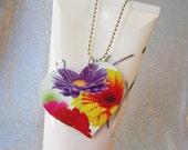 Cute Teen Jewelry - Gerber Daisy Necklace - Boho