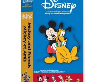 Cricut Cartridge | MICKEY AND FRIENDS Disney