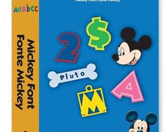 Cricut Cartridge  | MICKEY FONT Disney