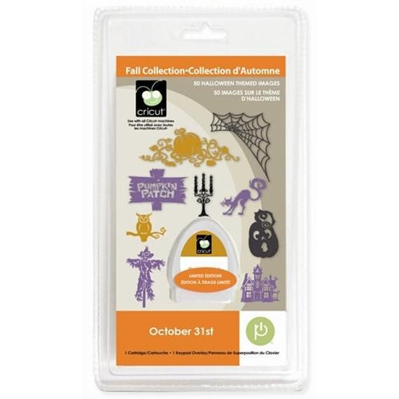 OCTOBER 31ST Die Cut Cricut Cartridge - Brand New Halloween Seasonal Solutions Last One in Stock!