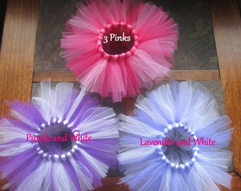 Doll Tutu Pack 2 3 4 5 Doll Tutus Fits 18 inch Dolls Design Your Own Doll Tutu Set