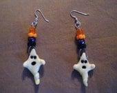 Ghost Earings that glow in the dark