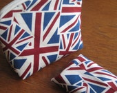 Make Up Pouch and Tissue Holder - UK / Union Jack
