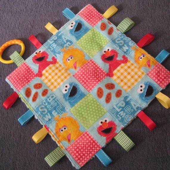 Baby Taggie Blanket - Sesame Street