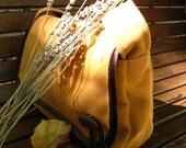 Shoulder Bag - GOLDEN FALL, graceful and versatile  (RESERVED)