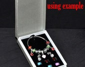 Beautiful Gift Box for Pandora Style Beads and Bracelets, Plus Bead Storage