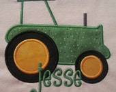 Tractor Embroidered Tshirt Personalized Great for Tractor Birthday Parties