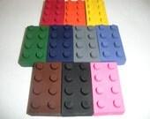 10 LEGO  Brick Crayons