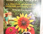 Vintage Book The Golden Garden Guide 1961 Great Graphics and Photos Collage Art