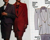 Busy Womans Jacket Top and Skirt Sewing Pattern Size 10