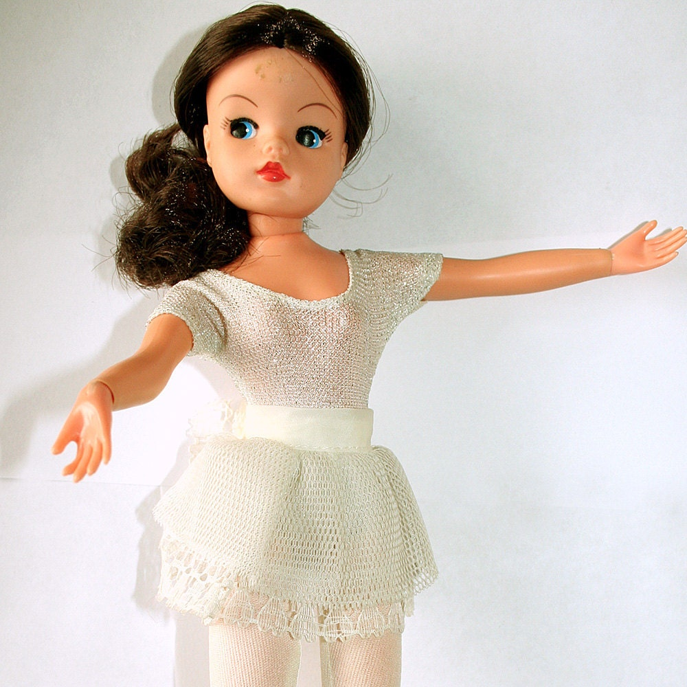 1980s Active Ballerina Sindy Doll Pedigree Full Outfit