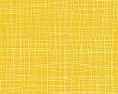 ONE YARD Cosmo Cricket Early Bird Checker in Yellow