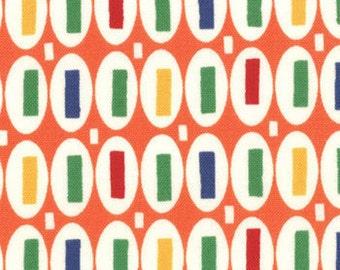 ONE YARD Orange Magic Beans Pezzy Pez Print Fairy Tale Friends American Jane
