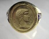 ROMAN EMPEROR IN AMETHYST