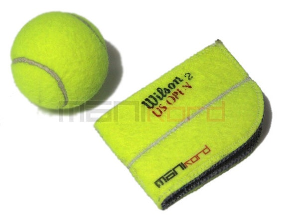 Recycled Tennis Ball Folding Wallet