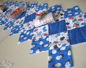 Snowmen and Mittens Table Runner