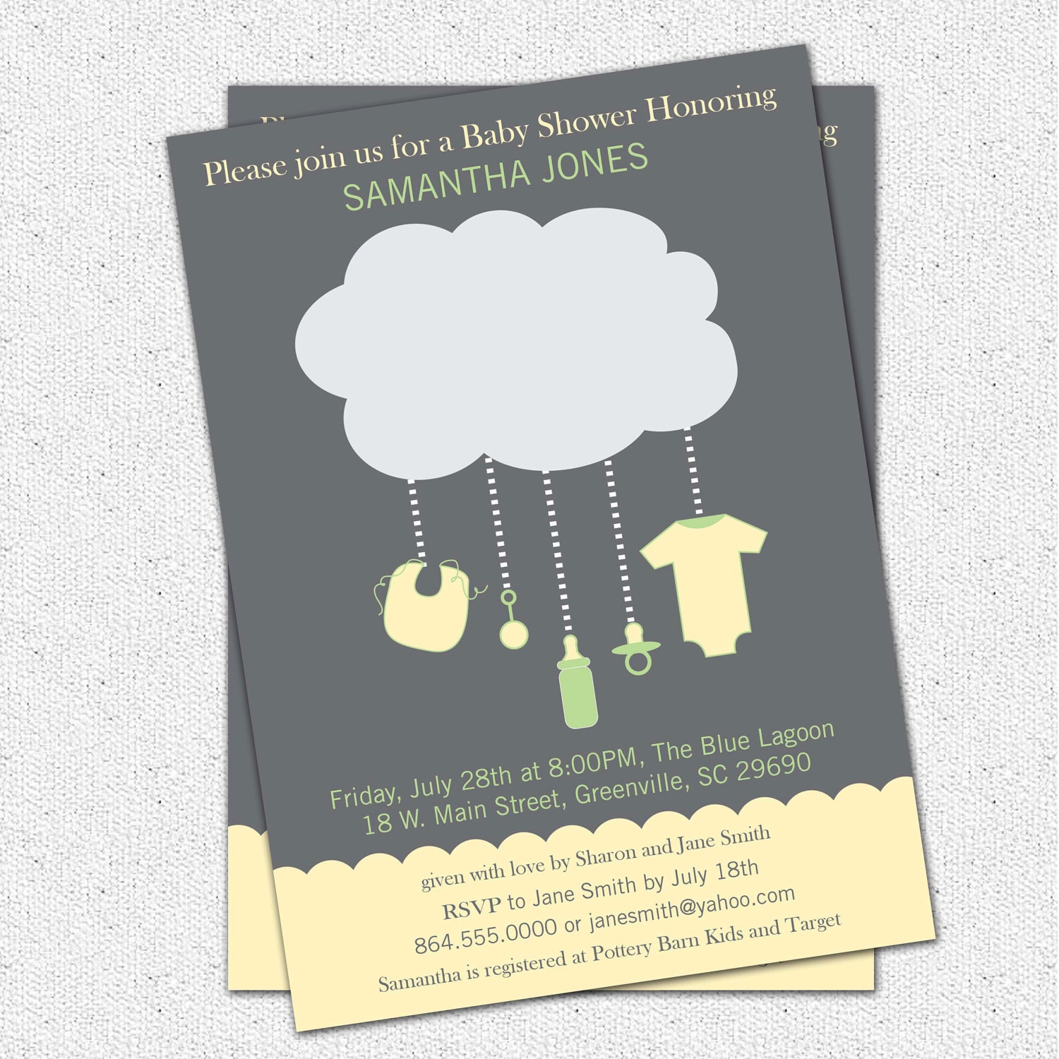 Unisex Baby Shower Invites is great invitations layout