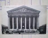 Paris - La Madeleine - 1935 - Vintage French Postcard