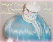 Sweet Whipped Cream Carousel Headband